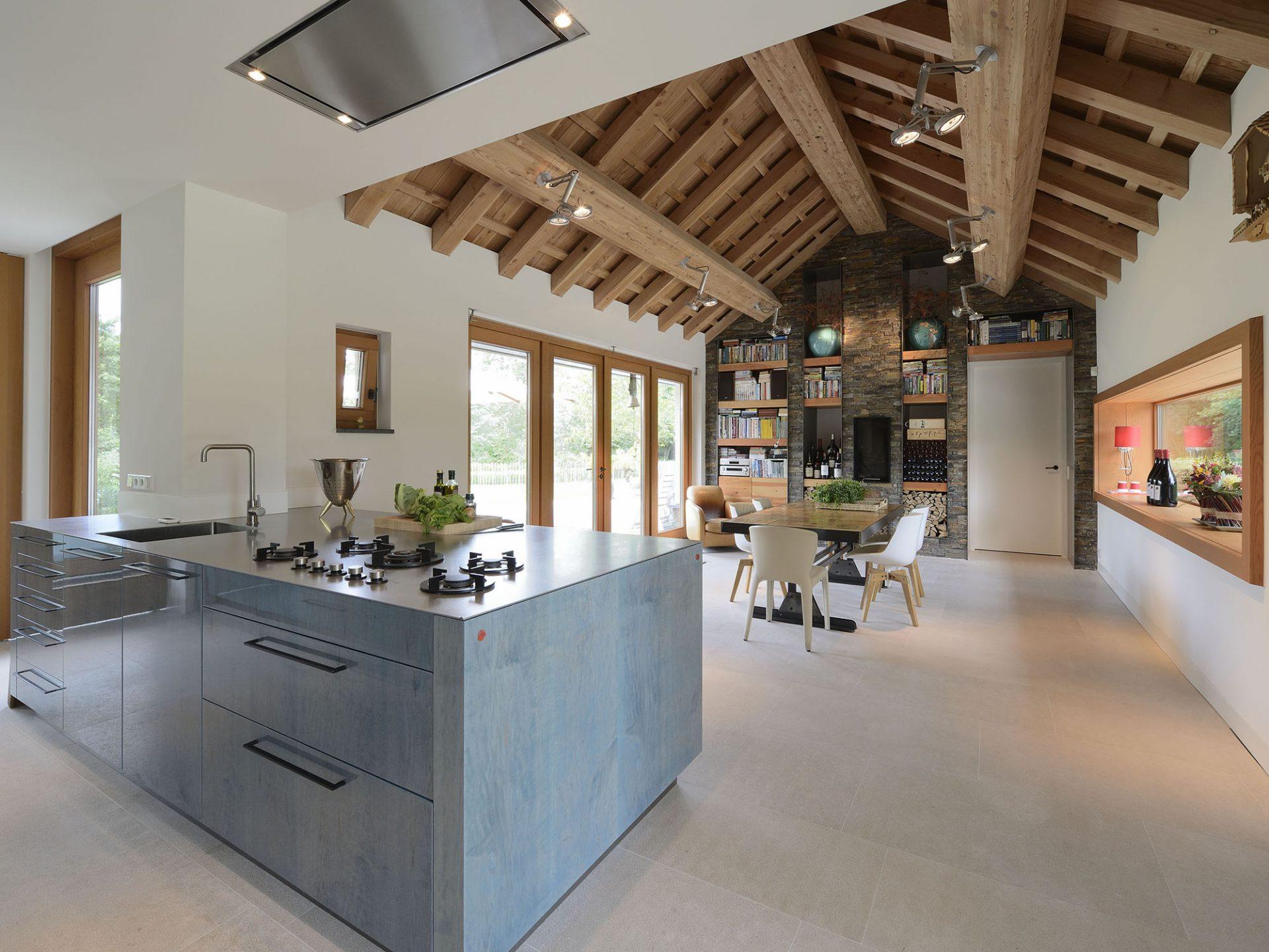 Residential keuken ontwerp met michelinster emyko