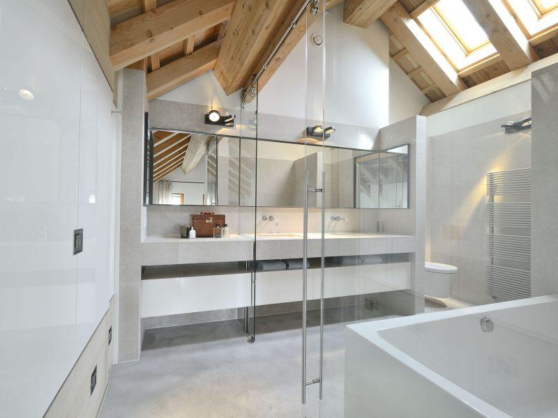 Rustieke badkamer ensuite